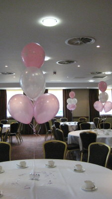 Christening Balloon Decorations