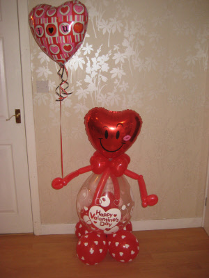 Valentine Balloon Buddy !