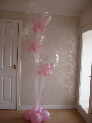 Double Bubble Balloon Decorations