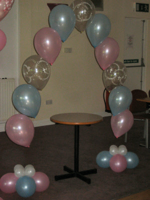 Cake Decor Cumbernauld : First Holy Communion Balloon Decoration