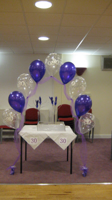 Adult Party Balloon Decorations